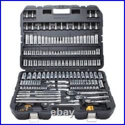 192 Pc SAE & Metric Mechanic's Tool Set