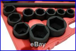 27pc Impact Socket Set 3/4 inch Drive Metric SAE Standard Automotive Mechanic