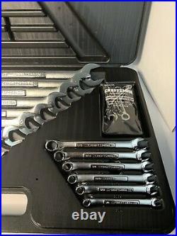 2- Craftsman USA Combination Wrench Set 26 Piece SAE -V^- Standard & Metric