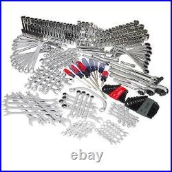 302 Piece Craftsman Mechanic tool Set 144-tooth Ratcheting Wrench SAE/METRIC 444