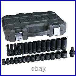 3/8 Drive Impact Socket Set 29pc 6 Pt Standard + Deep From Gearwrench
