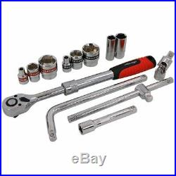41pc 1/2 inch Drive Socket Set SAE and Metric Imperial AF Extending Tool Set