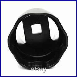 7 pc 1/2 Drive 6 Point Wheel Bearing Axle Lock Nut Socket Set