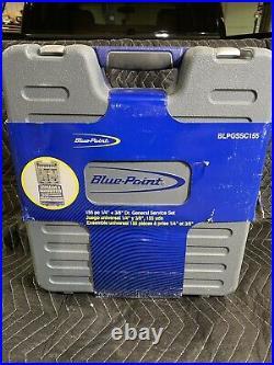BLUE-POINT BLPGSSC155 155pc 1/4 & 3/8 Dr. GENERAL SERVICE SET BRAND NEW
