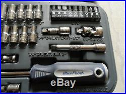 BluePoint BLPGSS1438 1/4 Metric & SAE Socket Set 38 Piece