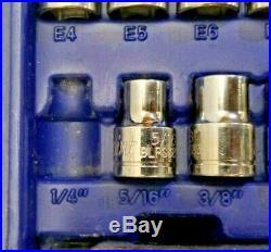Blue Point BLPGSSC100B 100-pc Dr. General Service Set (Missing 4 Pcs)