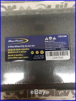 Blue Point Wheel Flip Socket Set (LSR1500)