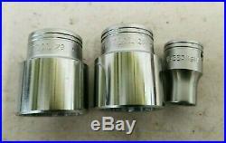 Britool 62 Piece Na760c 1/2 Drive Socket Set Metric, Af & Whitworth