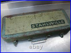 CLASSIC STAHLWILLE 3/8 DRIVE SOCKET SET AF and METRIC