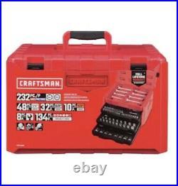 CRAFTSMAN 232-Piece Standard (SAE) and Metric Combination Polished Tool Set