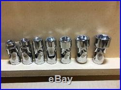 CRAFTSMAN 41 piece Flex Swivel Socket Set 1/4 3/8 drive Metric MM SAE Standard