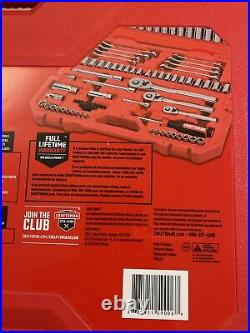 CRAFTSMAN CMMT12024 135-PCs Mechanics Tool Set SAE/Metric Chrome-Finish, NEW