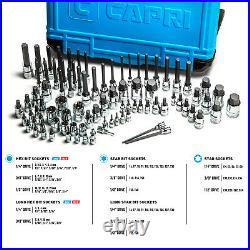 Capri Tools Master Bit Socket Set, Advanced Series, 88-Piece