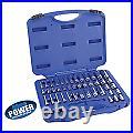 Cornwell Tools Blue Power CBP1KIT 1/4 Drive 6 Point 46 pc Socket Set