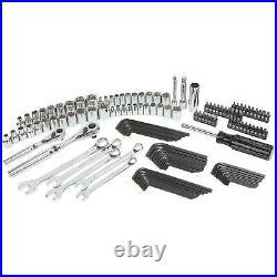 Craftsman 130 Pc Mechanics Tool Set With 16 Inch Metal Hand Box Standard Metric