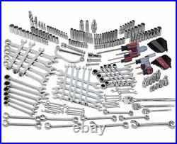 Craftsman 220 piece Mechanics Service Tool Set 144 Position Ratchets SAE/Metric
