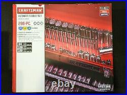 Craftsman 299-piece Ultimate Easy Read Deep Standard SAE Metric Socket Set