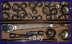 Craftsman 30 Piece Extra Large Heavy Duty 3/4 Drive SAE MM Socket Wrench Set