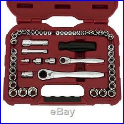 Craftsman 51 Piece Max Axess Pass-Through Mechanics Tool Set with Case