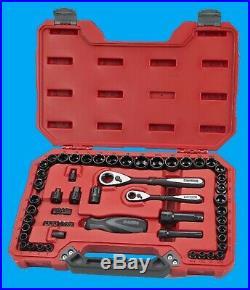Craftsman 58pc Max Axess Universal Socket Wrench Tool Set SAE MM Metric Kit NEW