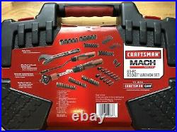 Craftsman Mach Series 83 Piece Ratcheting Tool Set with Carrying Case