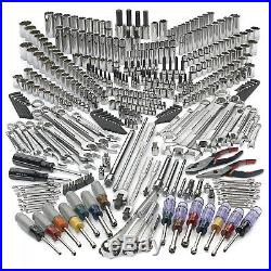 Craftsman Mechanic Tool Set 413 Piece Standard Sae Metric Alloy Steel Brand New