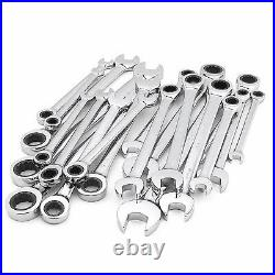 Craftsman Ratcheting Wrench Sets 10 SAE/Inch 1/4-3/4, 10 Metric/MM 6-18 or BOTH