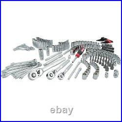 Craftsman VERSASTACK 216 Piece Mechanic's Tool Set With 3 Drawer Case Chrome NEW