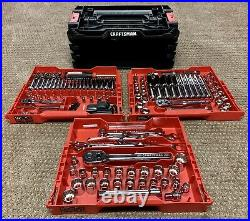 Craftsman Versastack 216 Piece Standard SAE & Metric Combination Tool Set Chrome