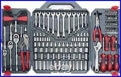 Crescent 170 Piece General Purpose Tool Set Closed Case Garage & Home Tools
