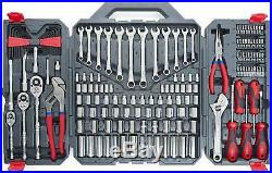 Crescent 170 Piece General Purpose Tool Set Closed Case Garage Shop Home Tools