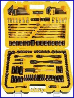 DEWALT 181 Piece Mechanics Tool Kit In Hard Carry Case