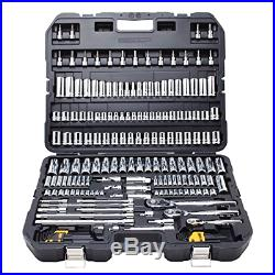 DEWALT DWMT75049 Mechanics Tools Set Easy One-Hand Operation (192 Piece), New