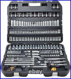 DEWALT Mechanics Tool Set 192-Piece (DWMT75049) SAE & Metric Hard Carrying Case