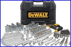 DEWALT Mechanics Tool Set 205-Pc Tooth Ratchets, Sockets, Wrench, Bits DWMT81534