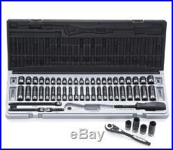 DUAL ACTION 53PCE 6PT 1/4Dr Impact Socket Metric & SAE SET 10045302