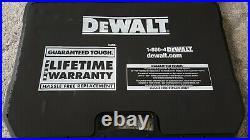 DeWalt Mechanic Tool Set Polished Chrome 1/4 3/8 173pcs Metric SAE Lifetime Warr