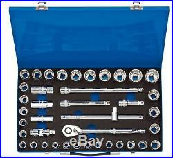 Draper Expert 1/2 Inch Metric & Imperial Socket Ratchet Extension Bar Set High