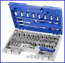 Expert By Facom E032909 55 Piece 1/2 Drive Metric, AF & Torx Socket Set