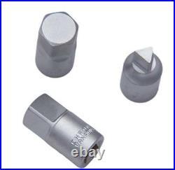 Franklin Tools 3/8in Drive 18 Piece Oil Drain Plug Key Set