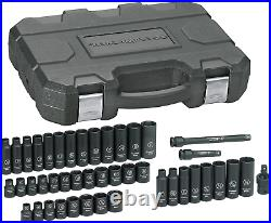 GEARWRENCH 44 Pc. 3/8 Drive 6 Point Standard & Deep Impact SAE/Metric Socket