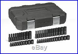 GearWrench 48 Pc 1/4 Dr 6 Pt Standard & Deep Impact SAE/Metric Socket Set 84902