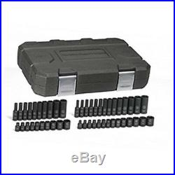 GearWrench 48 Pc. Impact SAE/METRIC Standard & Deep Socket Set, 1/4 Dr. 84902