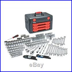 GearWrench 80942 239 Piece 1/4 3/8 & 1/2 Drive Metric & SAE Socket Set