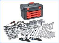 Gearwrench 80942 1/4 3/8 1/2 Dr SAE / Metric Mechanic's Master Tool Set