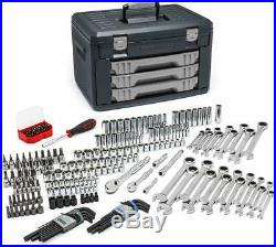 Gearwrench 80944 232 Pc. Mechanics Tool Set in 3 Drawer Storage Box New USA