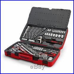 Genuine Teng Tools 127 Piece 1/4,3/8 1/2 Drive Tool Kit Spanner Set TM127