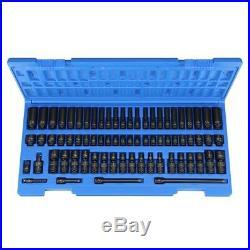Grey Pneumatic 9772 1/4 Drive Metric and SAE Standard Master Impact Socket Set