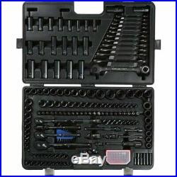Halfords Advanced 200 Piece Socket Set Black Ratchet Spanner Modular 120 150 175