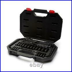 Husky SAE Metric Mechanics Tool Set 60 Piece 3/8 Drive 100 Position Universal